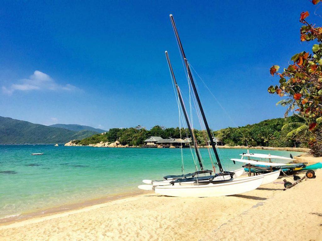 Đảo Cá Voi không có cư dân sinh sống ngoại trừ một resort duy nhất. (Ảnh: sưu tầm)