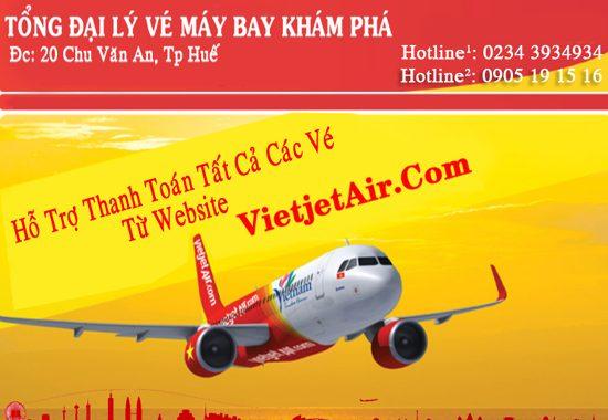Đặt Muavé Máy Bay Vietjet Air Giá Rẻ